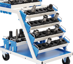 CNC transport trolley