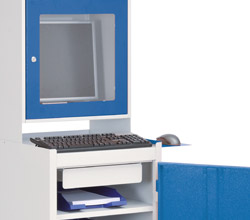 Computer cabinet mobile  / stationary
