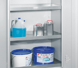 Environment protection/hazardous goods cabinets